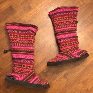 Muk Luks slipper boots!